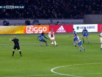 VIRAL: Blind scores first hat-trick of career as Ajax win 8-0