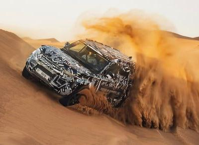 Watch the Red Cross put the new Land Rover Defender to the test in Dubai