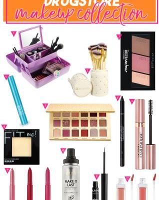 Makeup for College: Dorm Friendly Drugstore Makeup Collection