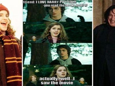 Harry Potter: 15 Hilarious Book Vs. Movie Memes Only True Fans Will Get