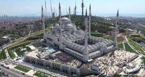 Turkey's largest mosque Camlica officially opens