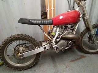 2 stroke project started