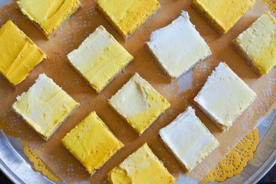 Frosted Lemon Cookie Bars