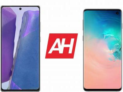 Phone Comparisons: Samsung Galaxy Note 20 vs Samsung Galaxy S10