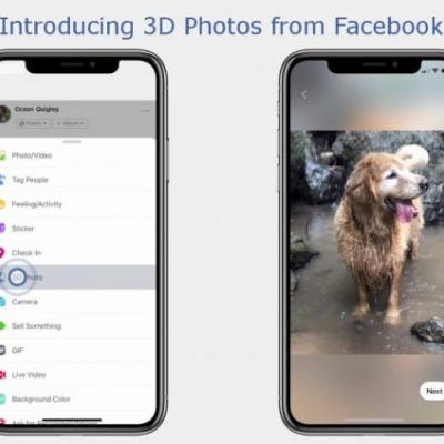 Facebook Launches 3D Photos Feature That Uses Portrait Mode Images From iPhone