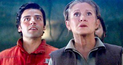 Oscar Isaac Remembers Intense Star Wars 8 Scene with Carrie Fisher