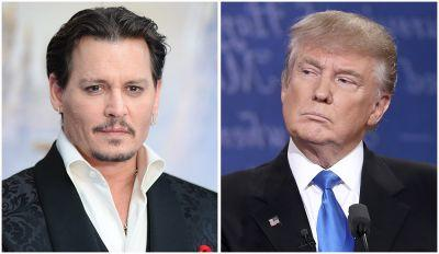 Johnny Depp Wants to Murder Donald Trump, Apparently - and It's Making Everyone Uncomfortable