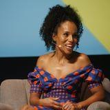 Kerry Washington Just Matched Her Nail Art to Her Dress, and We're Obsessed