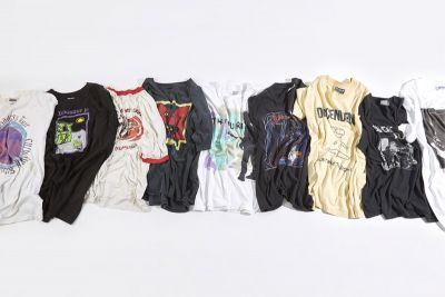 Goodhood and Teejerker Team Up to Curate a Selection of Iconic Vintage Band Tees