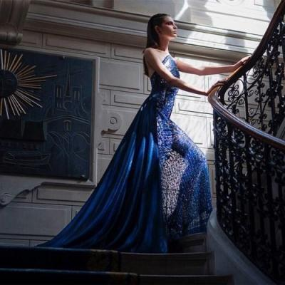 """""""The Blue Flame"""" - ufashion features this striking"""