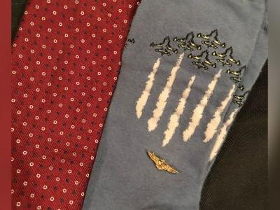 George H.W. Bush to be laid to rest wearing socks honoring Navy service