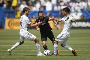 Ibrahimovic leads Galaxy rally past LAFC in MLS debut