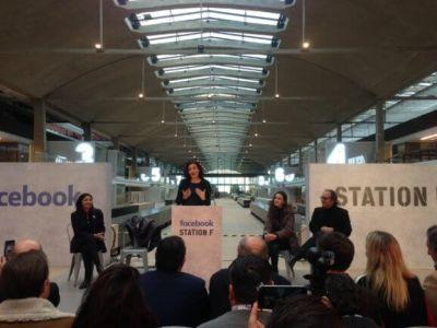 Facebook launches incubator for data-driven startups in Paris' Station F campus