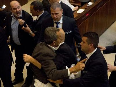 Israeli-Arab lawmakers were forcibly removed after protesting Mike Pence's big speech to Israel's parliament