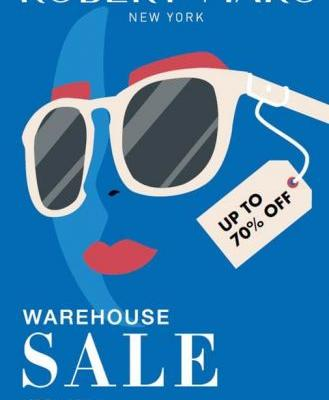 Robert Marc First Warehouse Sale - 10/4 to 10/14 - New York, NY