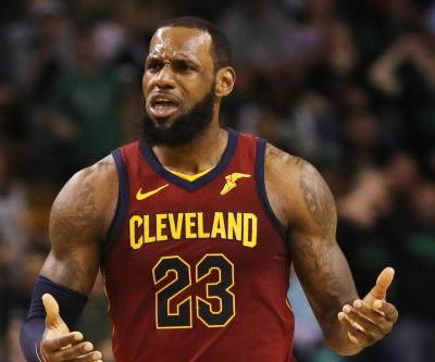 LeBron James gets demolished in another Game 1 stunner