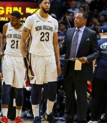 Pelicans' coach Alvin Gentry fined $15,000, says Anthony Davis 'never gets a call'