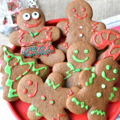 Gluten & Dairy Free Gingerbread Men