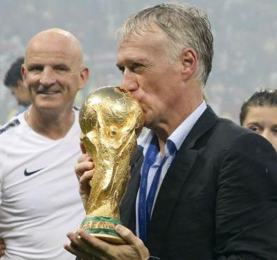 Deschamps never considered France exit prior to World Cup win