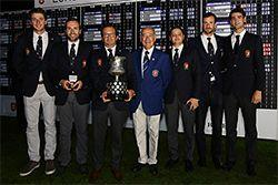 French Deny Late Scottish Charge To Win Leading European Golf Title At Aroeira