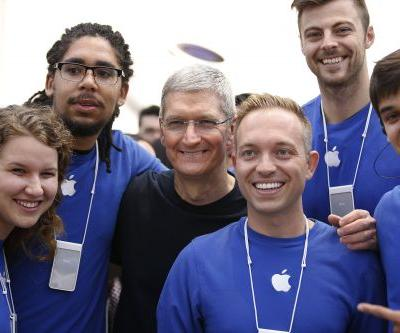 Apple is giving employees each $2,500 in stock as bonuses