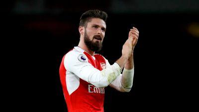 Arsenal forward Olivier Giroud scores wonder goal against Crystal Palace