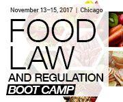 Food Law and Regulation Boot Camp