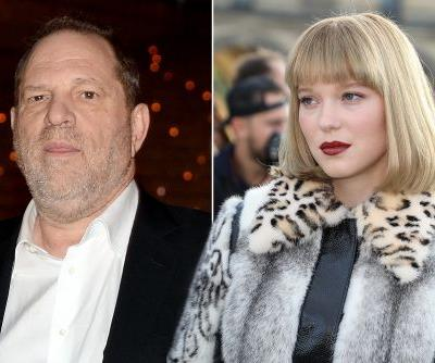 Léa Seydoux 'had to be forceful' to fend off Harvey Weinstein