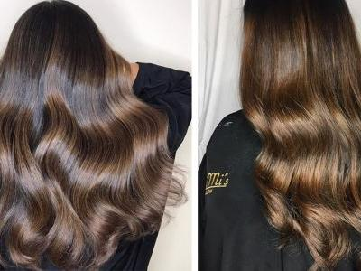 The Chocolate Cake Hair Color Trend Is A Rich, Decadent Look For Brunettes This Season
