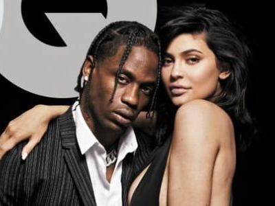Kylie Jenner, Travis Scott and an Office Chair Cover 'GQ''s August Issue