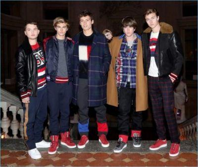 Lucky Blue Smith, Gabriel-Kane Day-Lewis + More Join Tommy Hilfiger at Pitti Uomo
