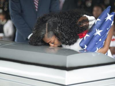 Gold Star Widow: Trump Call 'Made Me Cry Even Worse'