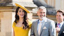 Here's Why Amal Clooney's Royal Wedding Outfit Cost Over Half A Million Dollars