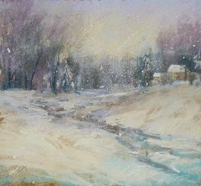 Painting a Winter Wonderland: All I know in One Painting!