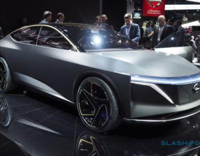 This striking Nissan IMs concept aims to save the sports sedan