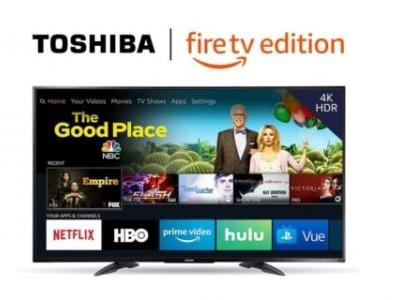 Grab The Best-Selling Toshiba 43-inch 1080p Fire TV For Only $199
