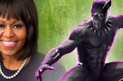 Michelle Obama Praises Black Panther TeamMichelle Obama shared