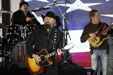 President Trump Briefly Sees Toby Keith's Saudi Concert