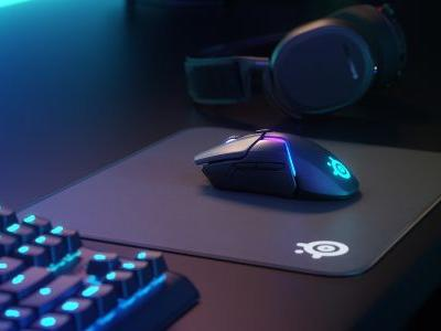 SteelSeries' new wireless gaming mouse promises to seriously cut the lag