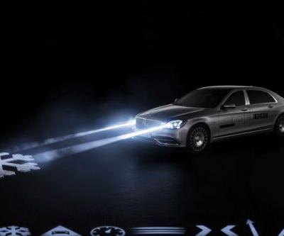 Mercedes-Maybach's State-of-the-Art Headlights Will Project Safety Symbols