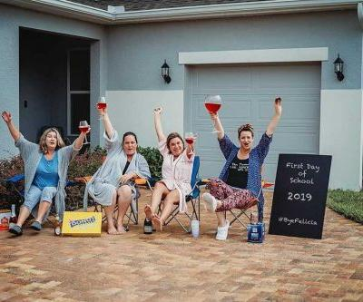 'We'll be juuuuuuust fine': Florida moms celebrate back-to-school with hilarious photos