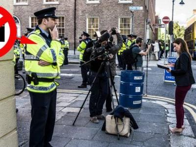Irish Justice Minister Proposes Ban on Photos of Police on Duty
