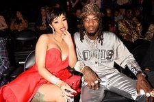 Offset Gets a Kulture Tattoo on His Face in Honor of His & Cardi B's Baby