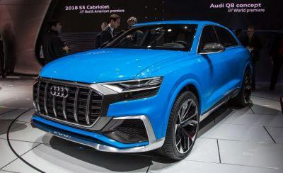 Audi Q8 Concept: The Four-Ringed Coupe-UV Is Here