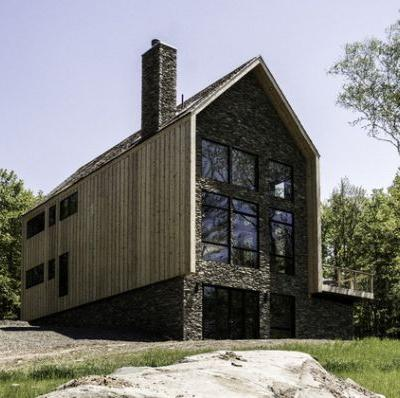 Cedar and Stone House / Mago Architecture