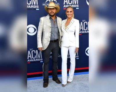 Brittany Aldean Attends 1st Red Carpet Since Welcoming Daughter Navy
