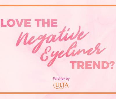 Learn How to Wear Negative-Space Eyeliner!