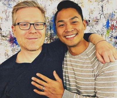 'Star Trek: Discovery' actor Anthony Rapp engaged to Ken Ithiphol