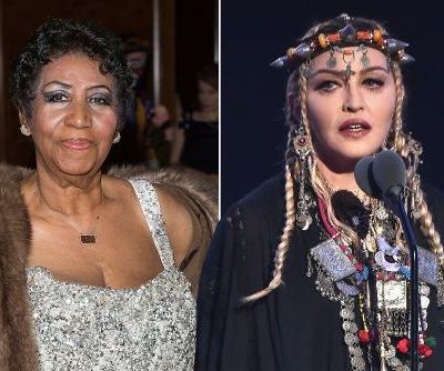 Madonna defends herself from angry Aretha Franklin fans