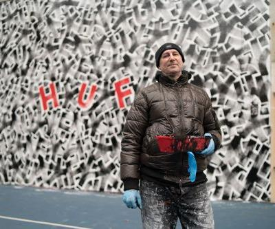 Eric Haze and HUF Team up on Collaborative NYC Mural